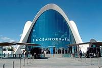 Spain, Valencia, oceanographic marine park