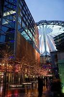 Sony Center, Postdamer Platz, Berlin, Germany, Europe