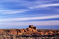 Wukoki Pueblo ruin, Wupatki National Monument, Arizona, USA