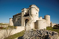 Castle-Palace of the Dukes of Alburquerque, Cuellar. Valladolid province, Castilla-Leon, Spain