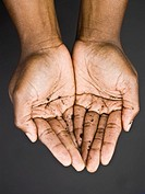 Woman´s Cupped Hands