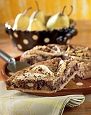 Pear and chocolate tart _ Christine Ferber