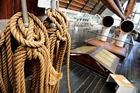 rope, ropes, polar ship, oslo, norway
