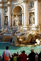 Trevi Fountain, Rome, Lazio, Italy