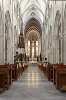 Abbey and Parish Church of St. Blasius, interior, Admont, Styria, Austria, Europe