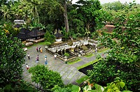 Temple near the Elephant Cave Goa Gajah, Ubud, Bali, Indonesia, Southeast Asia
