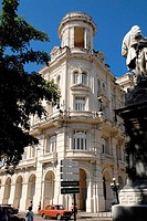 Centro Asturiano building belonging to the National Museum of Fine Arts, Havana, Cuba