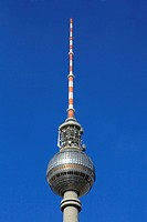 Television tower of Berlin, Alex, Alexanderplatz Square, Berlin_Mitte district, Berlin, Germany, Europe