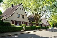 D-Bochum, Ruhrgebiet, Nordrhein-Westfalen, NRW, Bochum-Hordel, Siedlung Dahlhauser Heide, im Volksmund-Kappeskolonie¦ genannt, Arbeitersiedlung, Berga...