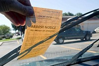 Parking tickets may be a big part of the revenue of some smaller municipalities along Hwy. 170