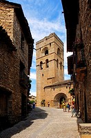 Santa Maria, Ainsa,Huesca province,Arag&#243;n, Spain
