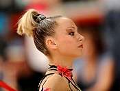 Karolina RASKINA, German All_Round Champion 2008, German Rhythmic Gymnastics Championships in Fellbach_Schmiden 2008, Baden_Wuerttemberg, Germany, Eur...