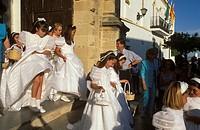 Corpus Christi feast, Conil de la Frontera, Costa de la Luz, Cádiz Province, Andalusia, Spain