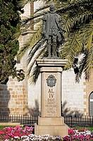 Francesc (Francisco) de Borja Memorial (St. Francis Borgia), Gandia, Costa Blanca, Valencia Province, Spain