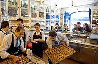 Pasteis de Belem at the Antiga Confeitaria de Belem, Lisbon, Portugal