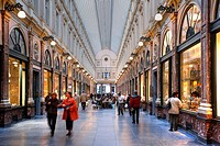 Shopping mall Galeries Royales Saint_Hubert, Brussels, Belgium