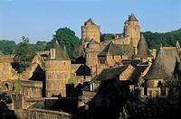 Castle, Fougeres. Ille-et-Vilaine, Bretagne, France