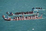 Dragon Boat Racing,China