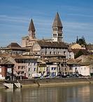 Tournus, ehemalige Klosterkirche St_Philibert ab 1020