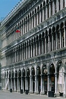 Italy _ Venice _ Saint Mark's square _ the Old Procuratie