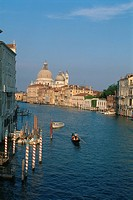 Italy _ Venice _ view of the Grand Canal and Santa Maria Della Salute