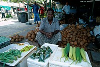 Maldives _ Male _ Market