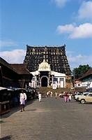 Shri Padmanabhaswami temple , Trivandrum , Kerala , India