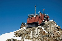 weather station on the mountain Sonnblaick 3105m in the nationalpark Upper Tauern