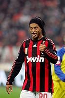 ronaldinho,milan 16_11_2008 ,milan_chievo 1_0 ,italian soccer championship 2008_2009, serie a,milan_chievo 1_0 ,photo will benson/markanews