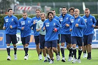 ,coverciano 07_10_2008,italy football team retreat ,photo guido zucchi/markanews