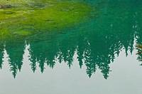 carezza lake, nova levante, italy