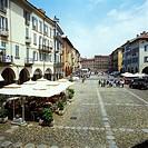Piazza della Vittoria, Pavia, Lombardy, Italy