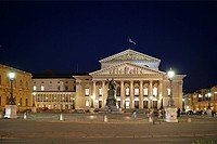National Theatre on Max-Joseph-Platz, Munich, Bavaria, Germany