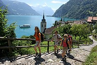 Switzerland, Europe, Lake Lucerne, Outdoor, Outdoors, Outside, landscape, alpine, alps, mountain, mountains, Central S
