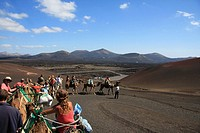 Lanzarote island, Spain, Europe, Canary islands, travel, volcanism, volcanic Landscape, scenery, Timanfaya, national p