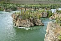 Five Finger Rapids, Yukon river, Yukon Territory, Canada