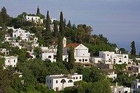 Karaman, Karmi village, former greek village, Pentadactylos mountains, North Cyprus, Cyprus