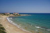 Coastal landscape, Dipkarpaz, Rizokarpaso, Karpasia, Karpass Peninsula, Cyprus