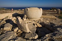 The temple of Aphrodite, Amathus, archaeological site, near Limassol, near Lemesos, Cyprus