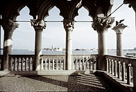 View from Doge´s Palace at Venice, Italy