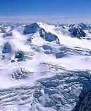 Oetztaler Wildspitze, Weisskamm, Pitztal, glacier, Oetztal Alps, Tyrol, Austria