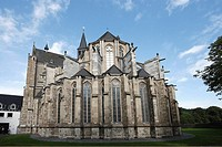 Altenberg Cathedral, Altenberg, Odenthal, North Rhine-Westphalia, Germany