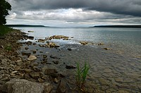Shore of Colpoys Bay at Spirit Rock, Ontario