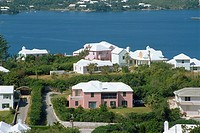 View from Gibbs Hill, Bermuda, Atlantic Ocean, Central America