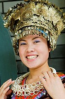 Portrait of a smiling Chinese woman