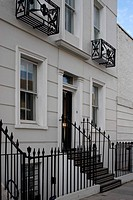 Refurbished house in Camden Town. Front exterior. Architect: Munkenbeck and Marshall