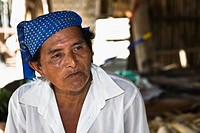 Close_up of a mature man, Papantla, Veracruz, Mexico