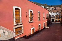 Building along a street, Zacatecas State, Mexico