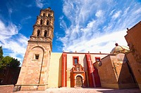 Low angle view of a building, San Agustin, San Luis Potosi, Mexico (thumbnail)