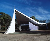 Our Lady of Fatima Chapel, Brasilia, 1959. Architect: Oscar Niemeyer